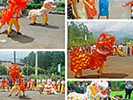 Dragon Dance at Hampton School 2019