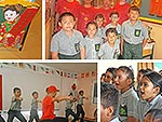 The Chinese Cultural Group of Mauritius visit Hampton School