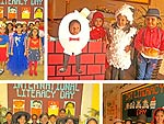 Hampton School pupils take part in International Literacy Day by dressing up as their favourite characters