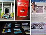 Hampton School Pupils attend Abolition of Slavery Expo at Curepipe Library