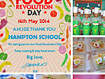 Hampton School take part in Food Revolution Day 2014
