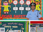 Road safety talk given to our pupils