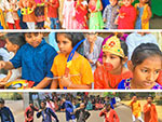 Hampton School Pre Primary Pupils Learning About Diwali