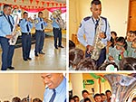 The Mauritius Police Force Band visits Hampton School!