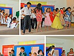 Pupils from Pre-Primary and Primary perform a Mother's Day assembly