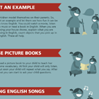 Infographic link to Teach Your Child English